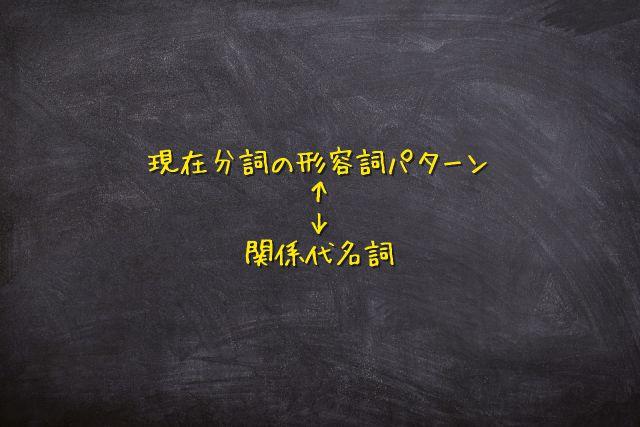 現在分詞 形容詞7