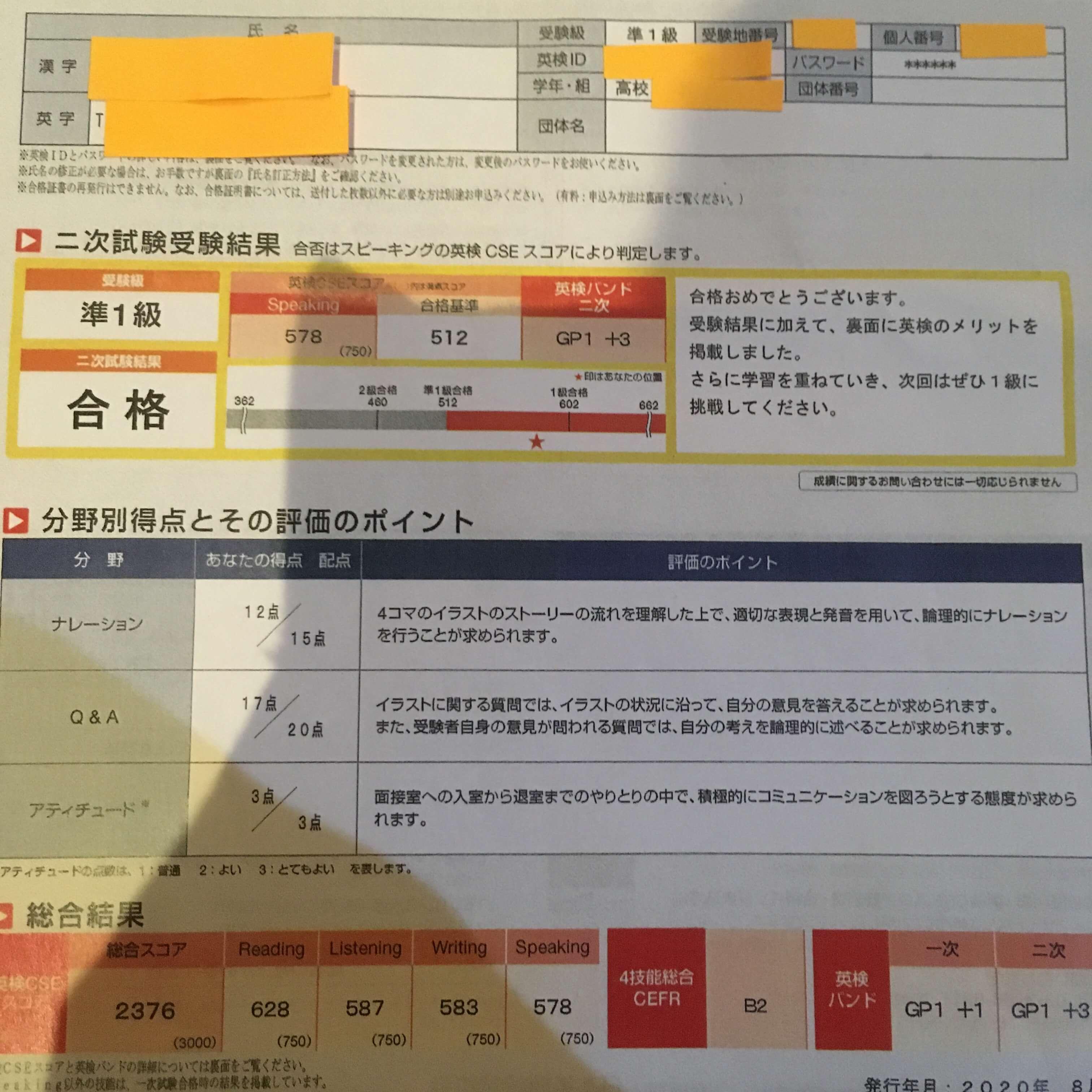 試験 次 英 検 準 級 2 2 【英検準2級2次試験対策】これでOK!質問の傾向と対策(過去18回分を分析!)